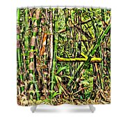 Bamboo View Shower Curtain