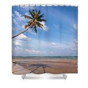 Ban Harn Beach Shower Curtain