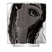 Banalata Sen Shower Curtain