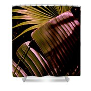 Banana Leaf Shower Curtain