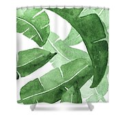 Banana Leaves  3 Shower Curtain