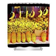 Bananas, Belize  Shower Curtain
