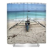 Banca Banked Shower Curtain