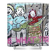 Band Shower Curtain