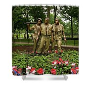 Band Of Brothers Shower Curtain