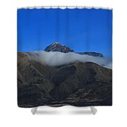 Band Of Cloud On Mount Cotacachi Shower Curtain