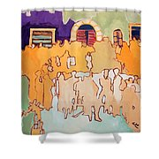 Banda Di Villaggio Shower Curtain