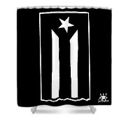 Bandera Puerto Rico En Resistencia Shower Curtain