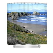 Bandon 8 Shower Curtain