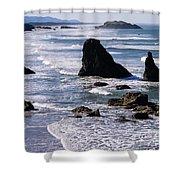 Bandon Beach 2 Shower Curtain
