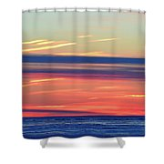Bands Of Colour Two  Shower Curtain