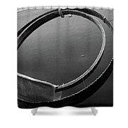 Bandsaw Blade Shower Curtain
