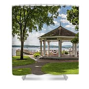 Bandstand Shower Curtain