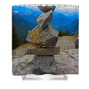 Banff, Canada Shower Curtain