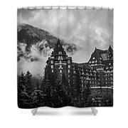 Banff Fairmont Springs Hotel Shower Curtain