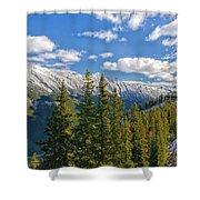Banff Gondola Shower Curtain