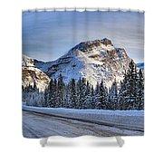 Banff Icefields Parkway Shower Curtain