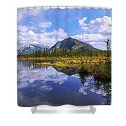 Banff Reflection Shower Curtain