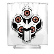 Bang Bang Shower Curtain