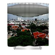 Bangkok 3 Shower Curtain