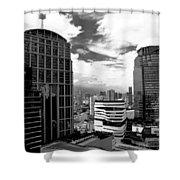 Bangkok Skies Shower Curtain