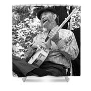 Banjo Man Shower Curtain