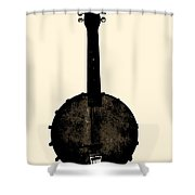 Banjo Mandolin Shower Curtain
