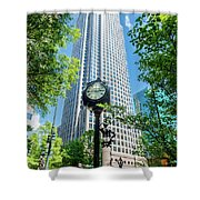 Bank Of America Corporate Center In Charlotte, Nc Shower Curtain
