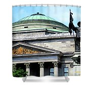 Bank Of Montreal Dome Shower Curtain