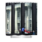 Bank Of Montreal Reflection Shower Curtain