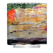 Bank Of The Gauley River Shower Curtain