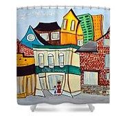 Bank Street West Shower Curtain