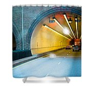 Bankhead Tunnel Shower Curtain