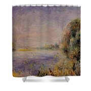 Banks Of The River 1876 Shower Curtain