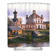 Banks Of The Volga Shower Curtain