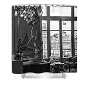 Banquet Room At The Musee D Orsay Shower Curtain