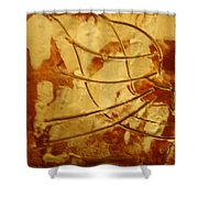Bantu - Tile Shower Curtain