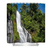 Banyumala Waterfall Shower Curtain