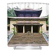 Bao Tang Temple Ho Chi Minh City Shower Curtain