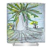 Baobab Grove Shower Curtain