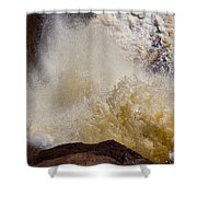 Baptism River Falls Five Shower Curtain