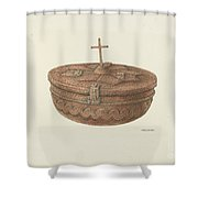 Baptismal Font Shower Curtain