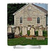Baptize  Marry  Bury Shower Curtain