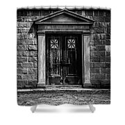 Bar Across The Door Shower Curtain