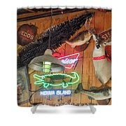 Bar Decor Shower Curtain