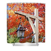 Bar Harbor Color Shower Curtain
