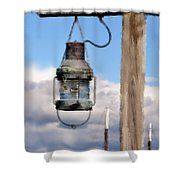 Bar Harbor Lantern Shower Curtain