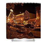 Bar Harbor Nights Shower Curtain