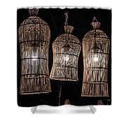 Bar Lights Shower Curtain