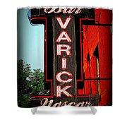 Bar Varick Nascar Shower Curtain
